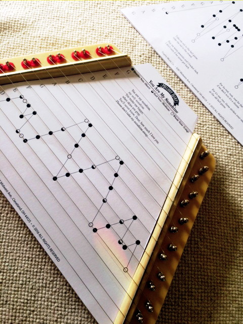 picture about Free Printable Lap Harp Sheet Music known as Audio For Relaxation - Melody Harp ⋆ The Indigo Trainer
