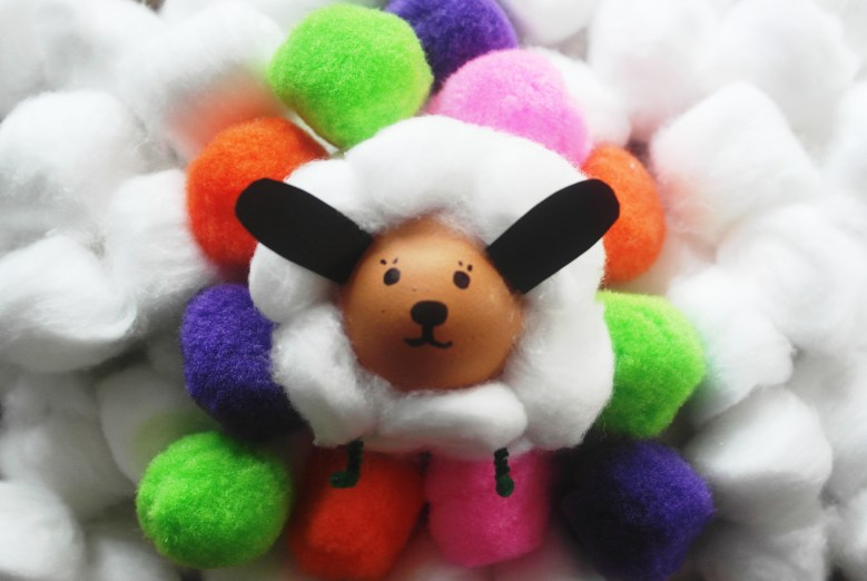 Jolly Spring Sheep Craft