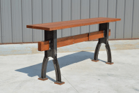 Modern Industrial Office Credenza and Shelving Unit - The ...