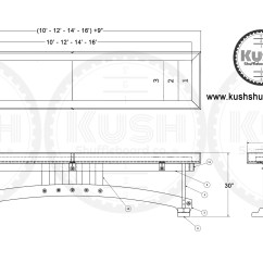 Table Shuffleboard Dimensions Diagram Mobile Home Service Entrance Wiring Craftsman The Industrial Farmhouse