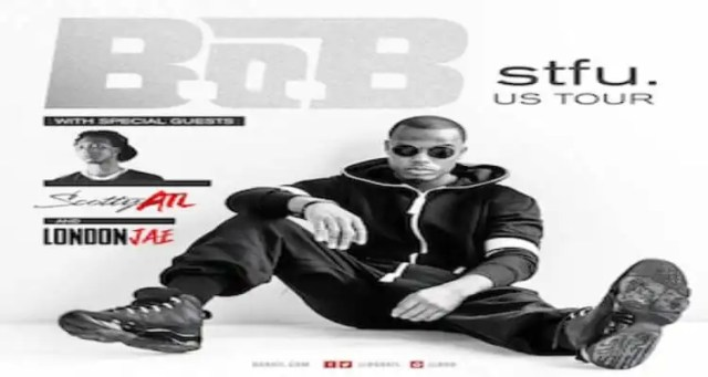 "B.o.B Announces New Track, ""Roll Up"" and stfu. Tour"