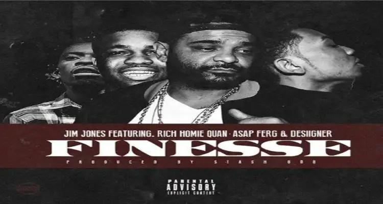 """Jim Jones ft. Rich Homie Quan, A$AP Ferg & Desiigner """"Finesse"""""""