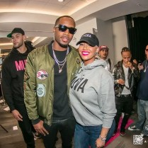 Safaree Samuels and Amber Rose