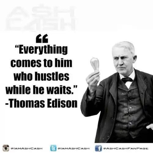 Hustle While You Wait! – Daily Word May 17, 2016
