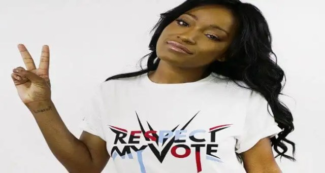 Keke Palmer Wants you to 'Respect My Vote!'