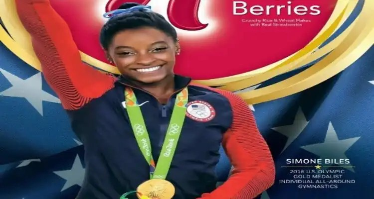 Simone Biles To Be Featured on Boxes Of Kellogg's® Special K® Red Berries