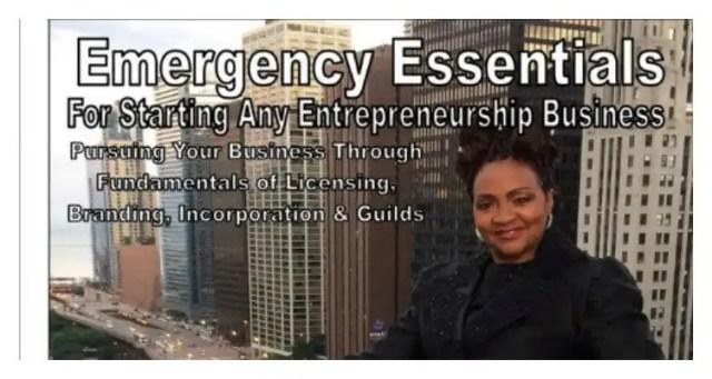 Priscilla 'Priscy' Ratcliff 'Emergency Essentials for Starting Any Entrepreneurship Business'