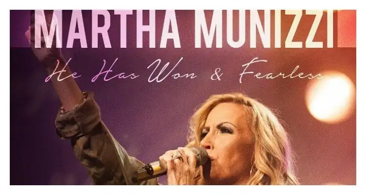 Martha Munizzi Releases Two New Singles- 'He Has Won' and 'Fearless'