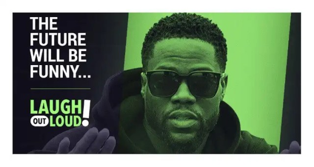 Kevin Hart Announces August 3rd Launch Date for Laugh Out Loud
