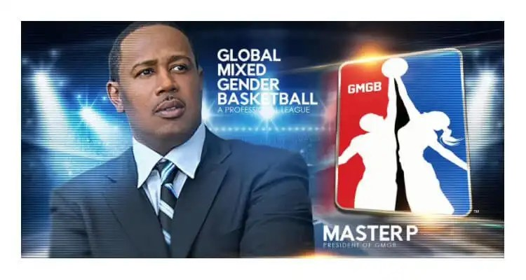 Master P Named President of the Global Mixed Gender Basketball Professional League