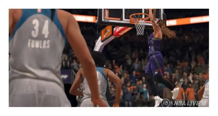 NBA LIVE 18 Will Feature WNBA Teams