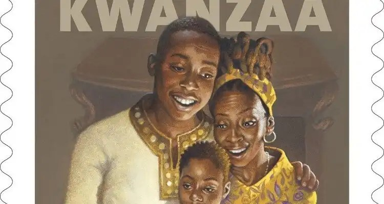 Kwanzaa Forever Stamp Dedicated