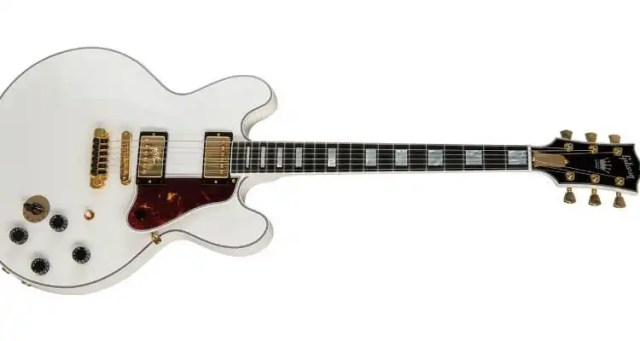 Gibson Launches New Alpine White B.B. King Lucille ES