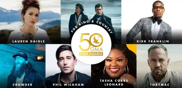 Nominees for the 50th Annual GMA Dove Awards Announced