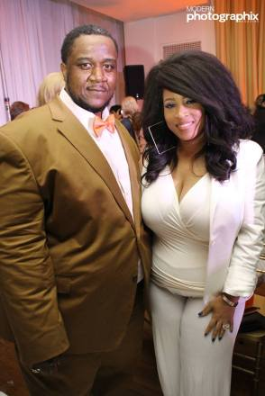 Mello Evron Andrews and Celebrity Designer Shanda Freeman.