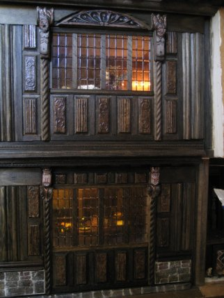 theinfill - Medieval, Tudor, Jacobean dolls house blog - restocking the dining room
