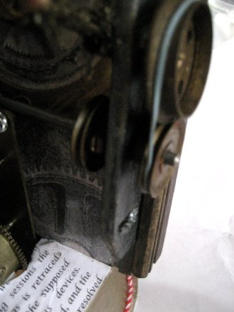 theinfill doll's house blog - mechanisms and book binding for the Time Techs