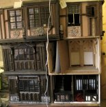 theinfill - Medieval to Jacobean dolls' house blog - 1:12 half legs - building a 'hidden' chapel