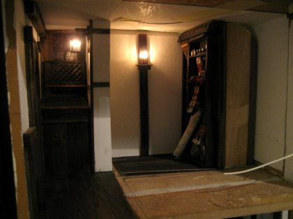 Making own 1:12 wall lights - theinfill dolls house blog - Medieval, Tudor to Jacobean