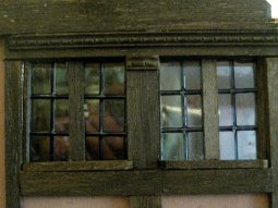 theinfill Medieval, Tudor, Jacobean 1:12 dolls house blog - the infill dolls house blog – details of ext schoolroom window