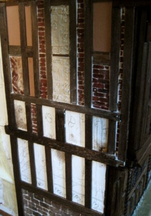 theinfill Medieval, Tudor, Jacobean 1:12 dolls house blog - the infill dolls house blog – standing back and viewing 4