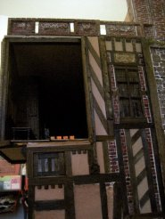 theinfill Medieval, Tudor, Jacobean 1:12 dolls house blog - the infill dolls house blog – view from much lower down is much more interesting than was