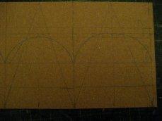 theinfill Medieval, Tudor, Jacobean 1:12 dolls house blog - the infill dolls house blog – 1 mm card for cupola shape try #1