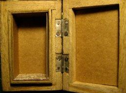 theinfill Medieval, Tudor, Jacobean 1:12 dolls house blog - the infill dolls house blog – preparing the small wooden box