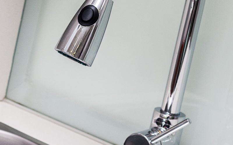 how do you remove a moen kitchen faucet