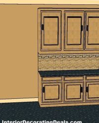 Question: Can You Paint Over Oak Kitchen Cabinets??  Kitchen