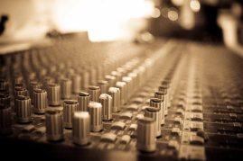 Mixing Desk at 123 Studios in November 2012