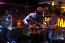 The band in action (EP Launch Party 13th April 2013)