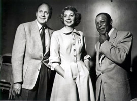 Jack Benny, Mary Livingstone, and Eddie Anderson