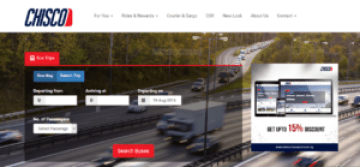 chisco transport online booking