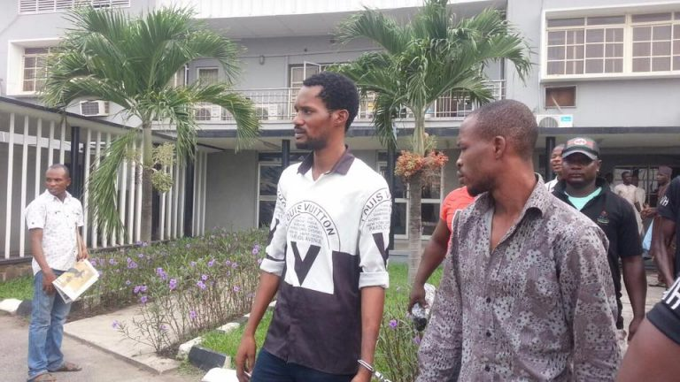 Image result for Seun Egbegbe spends 20th month in prison, appears in court today