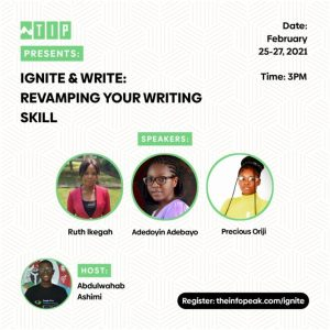 Ignite & Write: Revamping Your Writing Skills