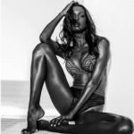 Jasmine Tookes Models Nude down the Runway (video) Sexy