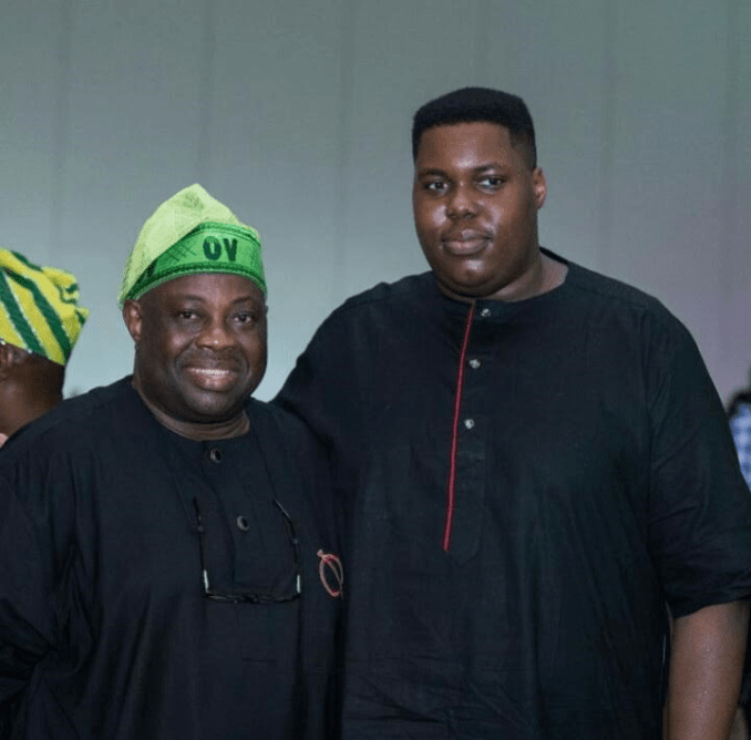 Photos Ovation publisher, Dele Momodu's sons are all grown up