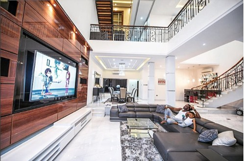 psquare luxurious home