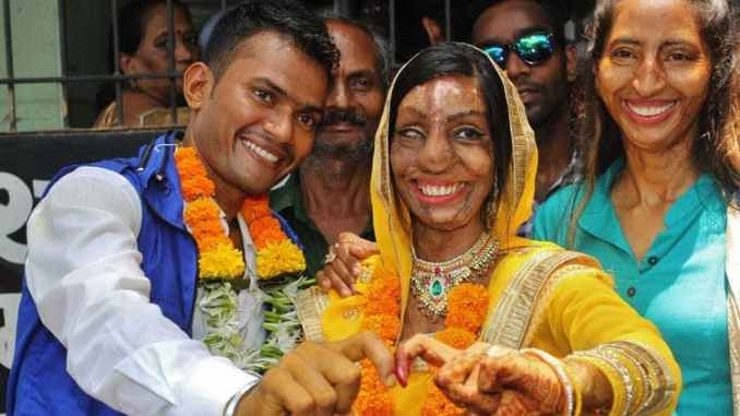 This is truly a sweet and endearing story. An Indian lady named Lalita Ben Bansi had her marriage dreams work out a week ago when she marry her genuine romance