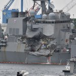 Missing US sailors found dead in ship damaged off Japan