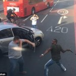 Shocking video of violent road rage attack in south-east London