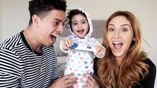 Ace Family: Mother and Daughter Surprise Daddy with Pregnancy Announcement
