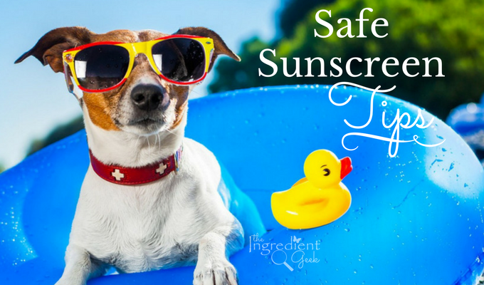 Ingredients to Avoid & Safe Sunscreen Tips