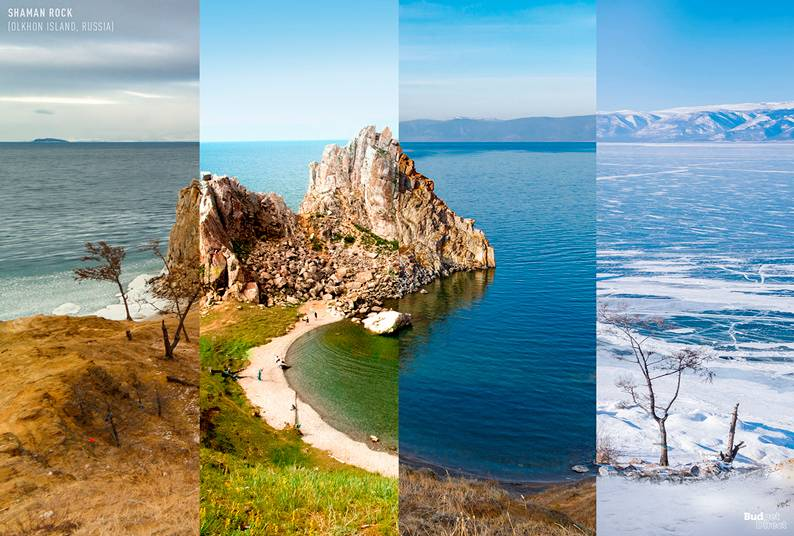4 Seasons, 1 Photo, in 8 Places Around the World
