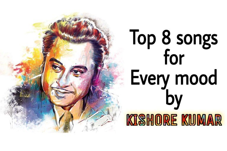 Top 8 songs by Kishore Kumar for every mood