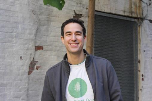 Matt Weiss of Friends of 20th Street Park.