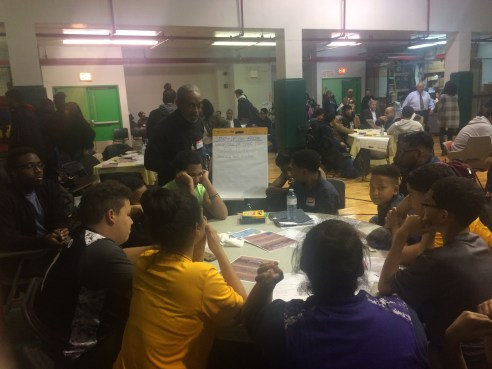 Students discuss their experiences with stop-question-and-frisk.