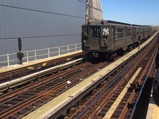 1917 Train at Yankee Stadium
