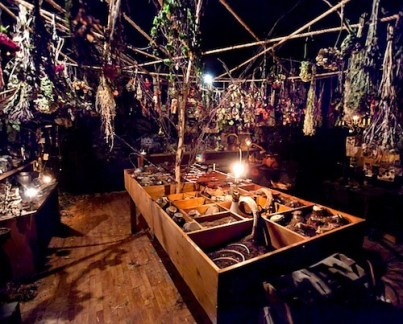 site-specific 'Sleep No More' Macbeth at the old McKittrick Hotel in chelsea